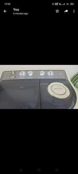 Lg 6.5 kg washing machine semi-automatic