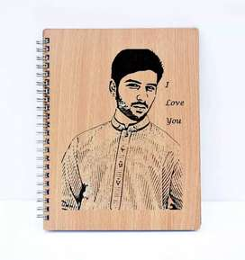 Engrave Your Picture & Name Etc Save Your Great Memories on dairy