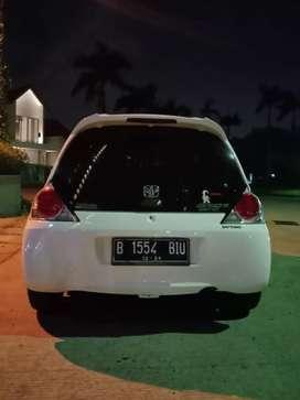 Dijual honda brio tipe s manual thn2014 w putih trwt istw antik low km