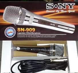 Mic SONY bahan logam microphone mik