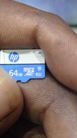 HP  hd Card 64gb