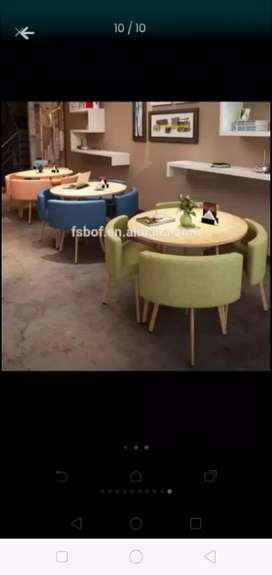 Dining table Sets Stocks Availa ble Cafe Restaurant hotel Banquet Home