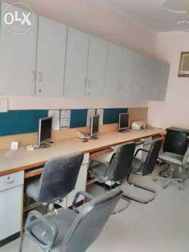Fully furnished office space in Jawahar Nagar