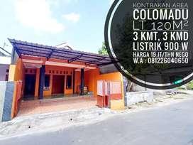 Kontakan Area Belakang Alana Colomadu, Dekat UMS, Kampus Akfis,Manahan