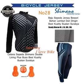 AS0106 Promo Setelan Baju Dan Celana Sepeda Gratis Onkir Dan COD