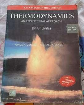 Thermodynamics by Yunus A Cengel and Boles