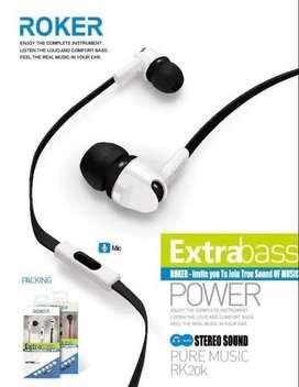 Headset/Handfree Roker RK20K Extrabass