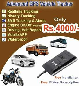 GPS Tracker For Car/Bike