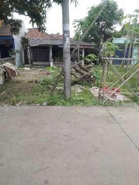 Dijual tanah lokasi strategis pinggir jalan desa panongan Ranca kelapa