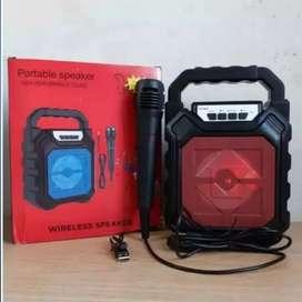 Speaker 668 Bluetooth / Speaker PortableYD-668 Plus Mic