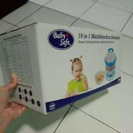 10 in 1 steamer baby safe (baru) murah
