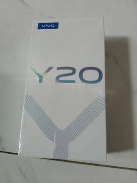 Dijual cepat hp vivo y20 pemakaian bru 5 bln lengkap