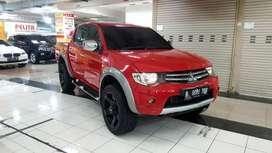 Mitsubishi Strada Triton Exceed Double Cabin 4x4 Metik Tahun 2014