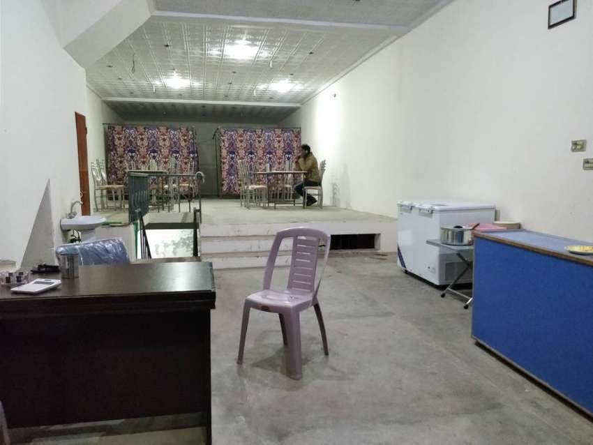 5 Marla Commercial Hall - Exchange Possible, Farrukh Town, Mattital Rd 0