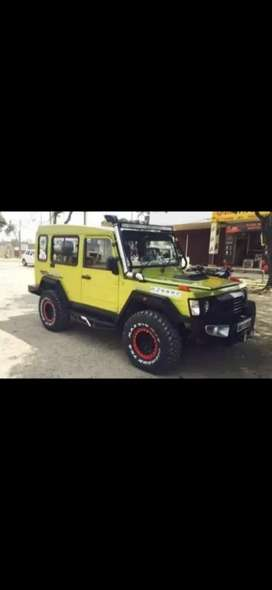 Force modified jeep