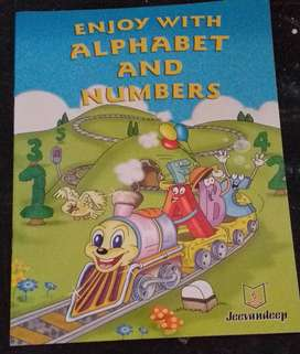 Alphabet and Numbers book for kids