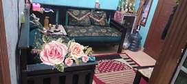 Dijual sofa minimalis L..bekas msih bagus..