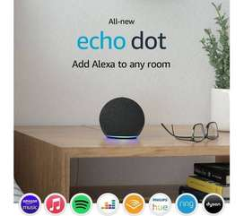 Echo Dot (3rd and 4th Generation)  Smart speaker with Alexa