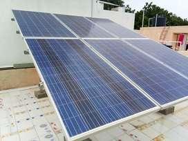Solar technical for installation of solar panels