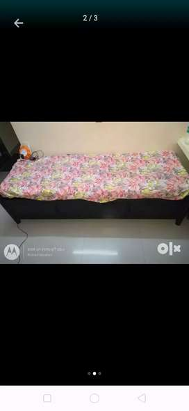 Metal beds with Soft Mattress good condition