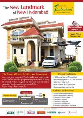 Villas Project At Satamrai Shamshabad By SuchirIndia