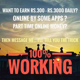 Online part time work with one app