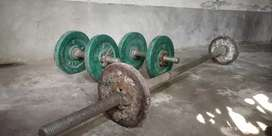 Bumper Offer on selling Dumble and barbell