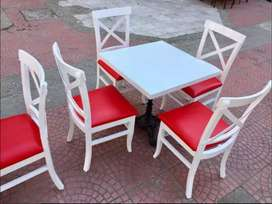 All over Pakistan Dining table Sofa set chairs Hotel Furniture Café