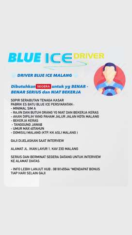 DRIVER BLUE ICE