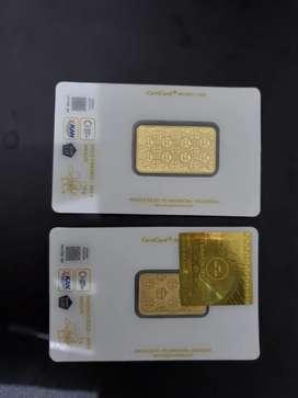 Emas Antam 10 gram dan 5 gram