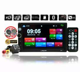 Double Din Mp5 + Kamera Mundur