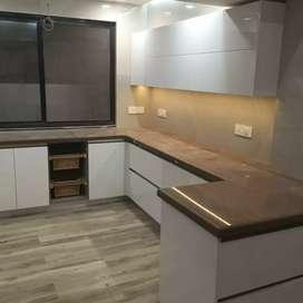 Complete modular kitchen