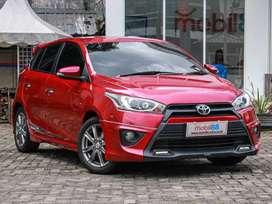 Dijual Toyota YARIS TRD Sportivo Manual 2016 Marun Credit DP Murah