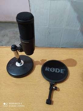 Audio Technica condenser mic