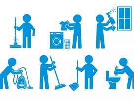 28 females required for live in house works of Nanny , Maids 24 hr job