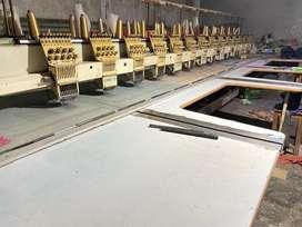 Computer Embroidery machine operators