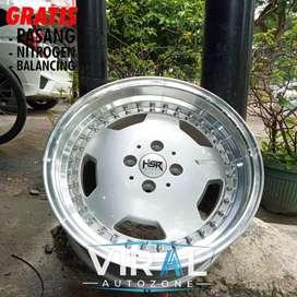 Velg Racing Model Celong Ring 16 HSR Untuk Mobil Vios Mazda2 City Jazz