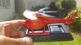 Helicopter solar car aroma with fragrance