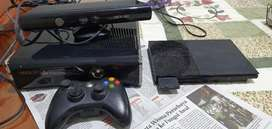 XBOX 360 S console model 1439 + Kinect + PS2 Slim