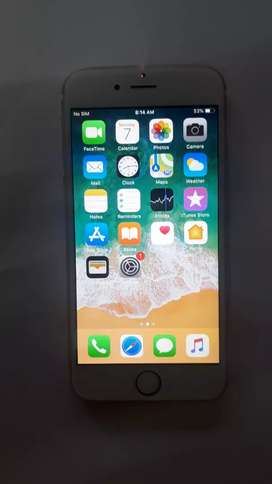 Iphone 6s 16 gb in good condition with bill
