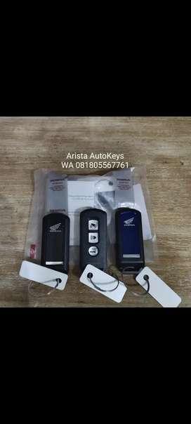 Kunci keyless smart key Remote Honda PCX
