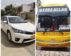 Rent A Car / Bus Services