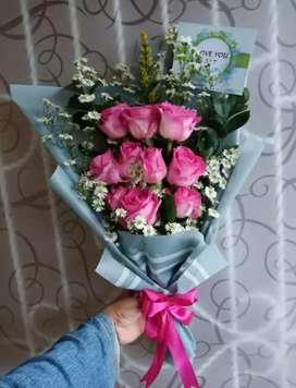Bouquet bunga bandar lampung
