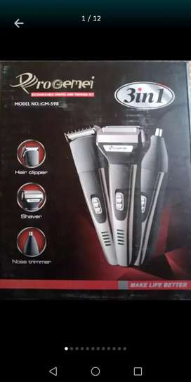 Shaving machine 3 in 1 pro gemei