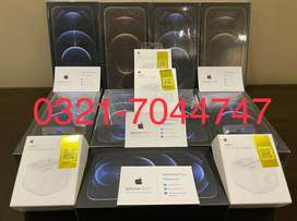 Iphone 12 pro max 128 gb non active box pack with facetime and waranty
