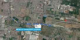 Dijual Cepat Tanah Raya Juanda Surabaya