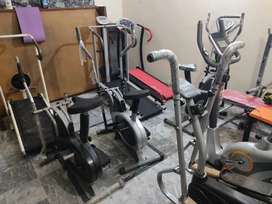 Treadmill Elliptical cycle cycling machine exercise running machine