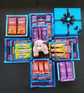 Chocolate explsion box