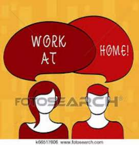 Weekly basis payment work form home typing work
