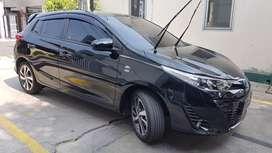 Toyota All New Yaris terbaru facelift MT Manual Hitam